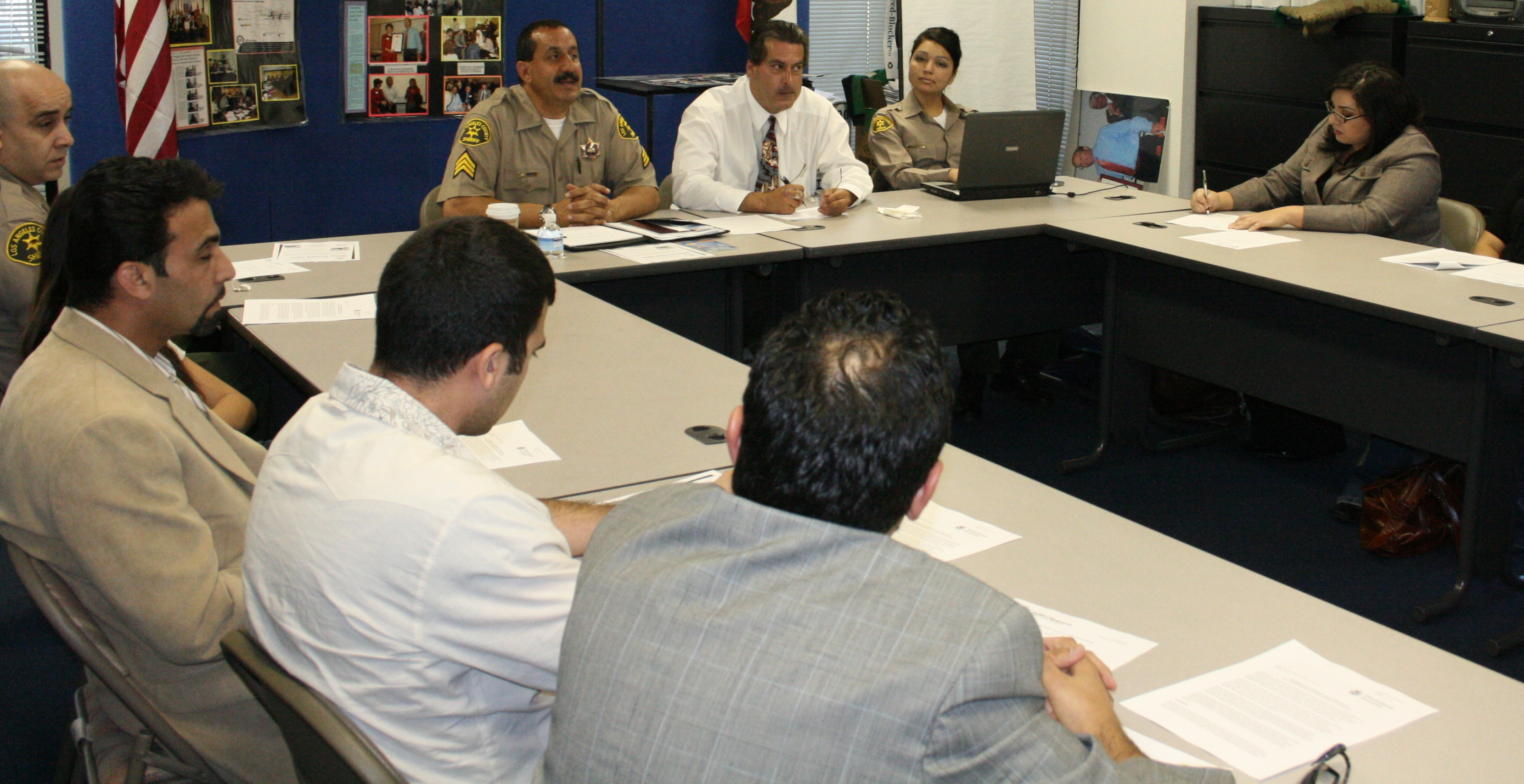 LACSD MCAU Round Table on Terrorism