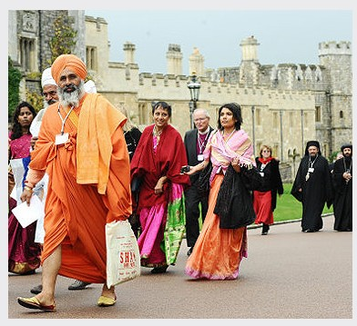 Green Faith Meeting: Image from The British Monarchy